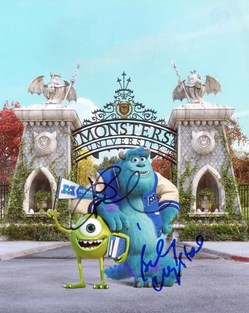 Billy Crystal & John Goodman Signed Photo