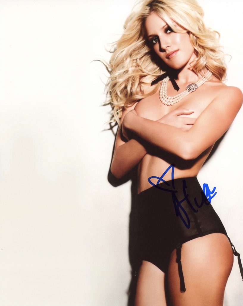 Heidi Montag Signed Photo