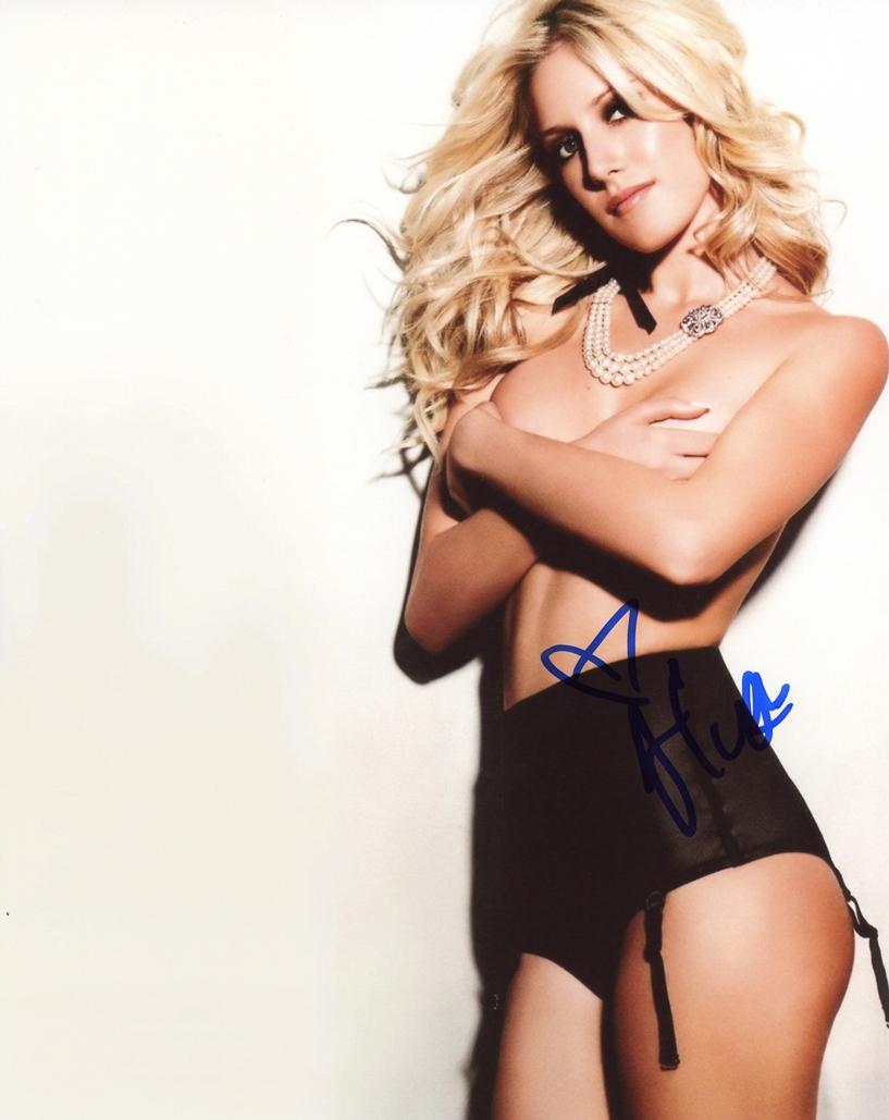 Heidi Montag Signed Photo