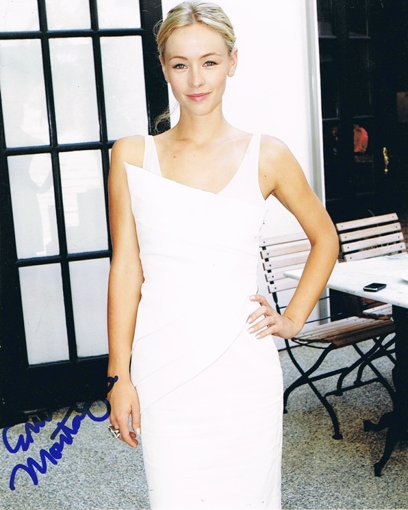 Emily Montague Signed Photo