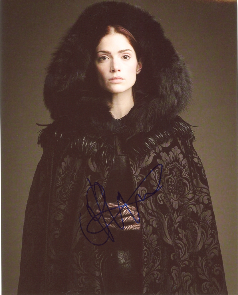 Janet Montgomery Signed Photo