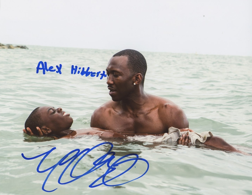 Mahershala Ali & Alex Hibbert Signed Photo