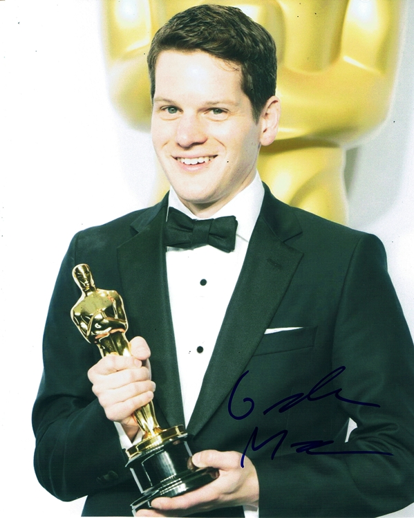 Graham Moore Signed Photo