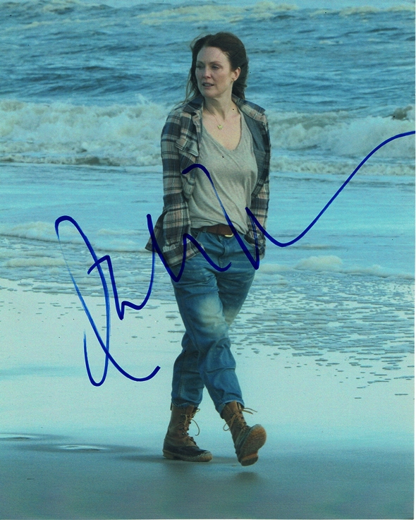 Julianne Moore Signed Photo