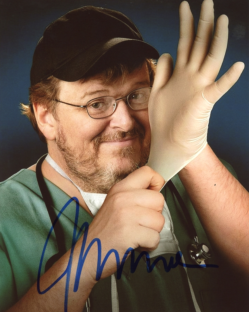 Michael Moore Signed Photo