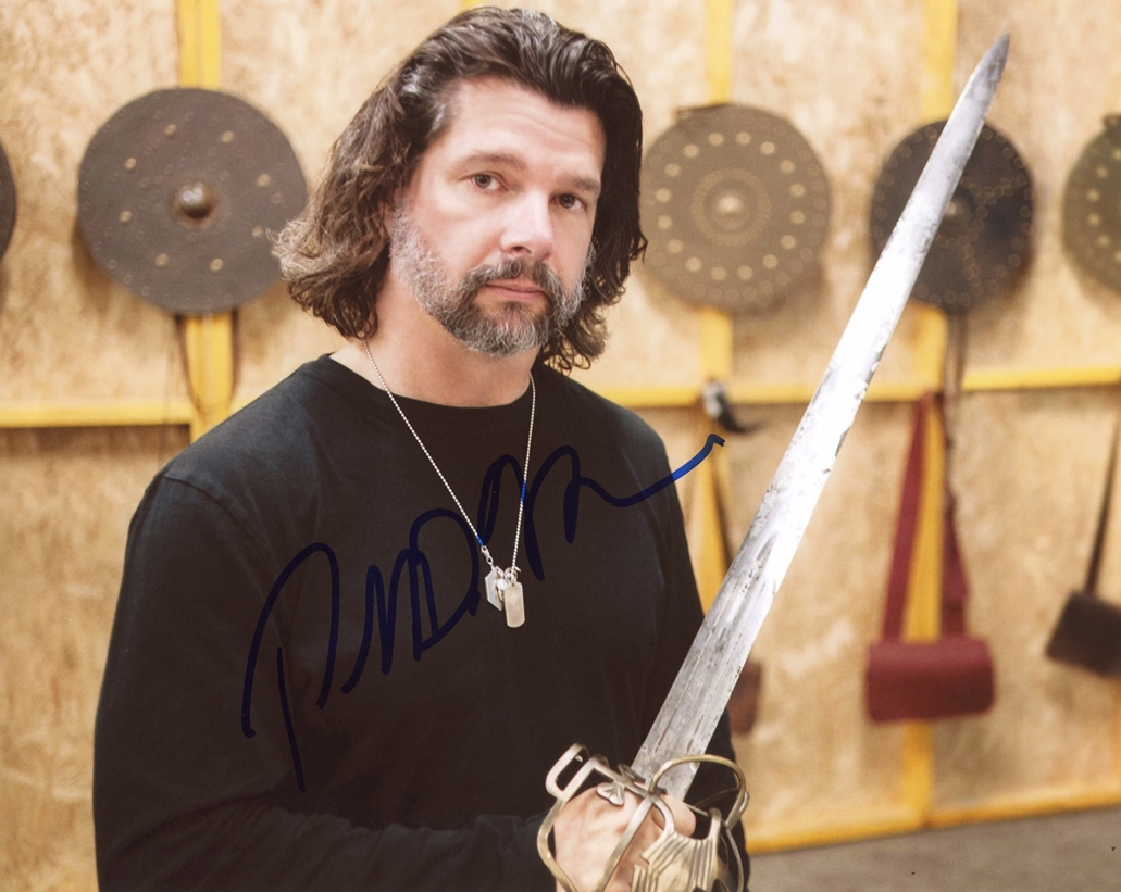 Ronald D. Moore Signed Photo