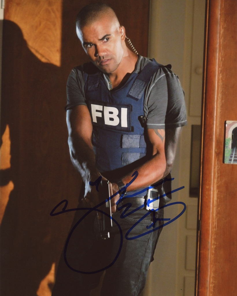 Shemar Moore Signed Photo