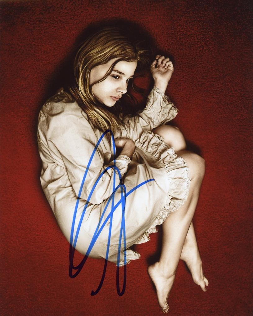 Chloe Moretz Signed Photo