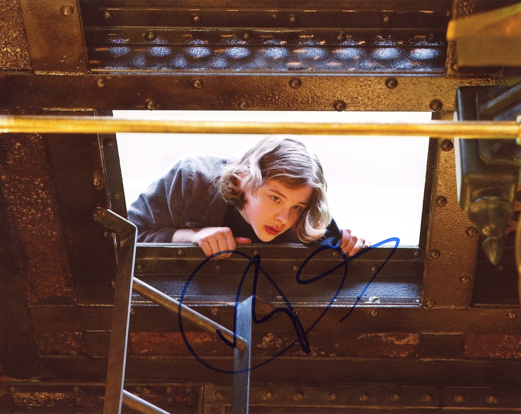 Chloe Moretz Signed Photo
