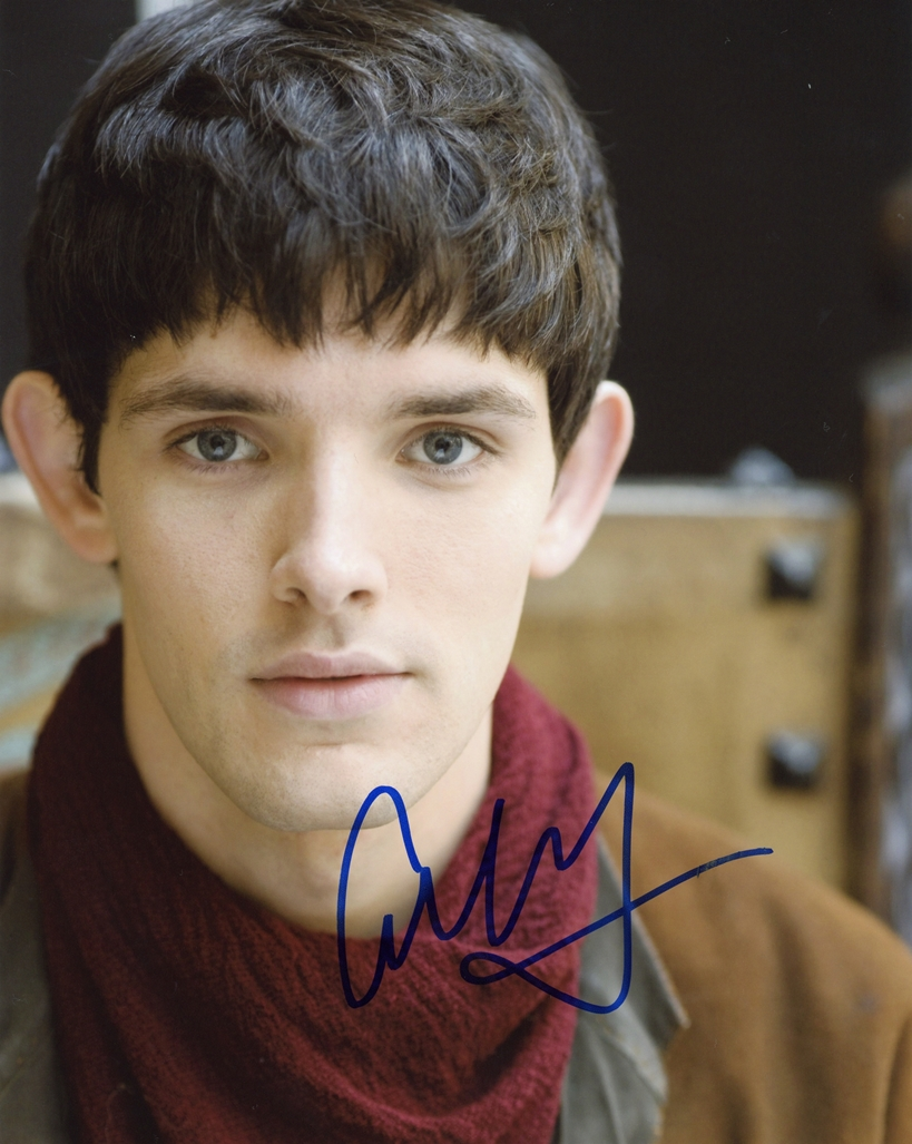 Colin Morgan Signed Photo