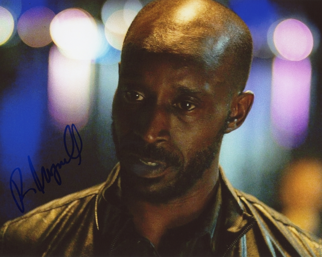 Rob Morgan Signed Photo
