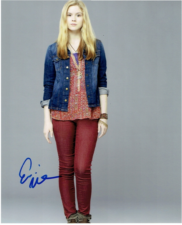 Erin Moriarty Signed Photo