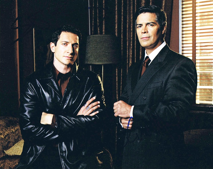 Esai Morales & Sasha Roiz Signed Photo