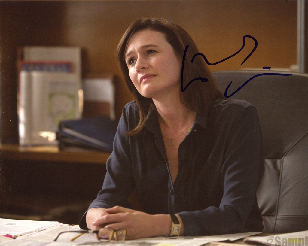Emily Mortimer Signed Photo