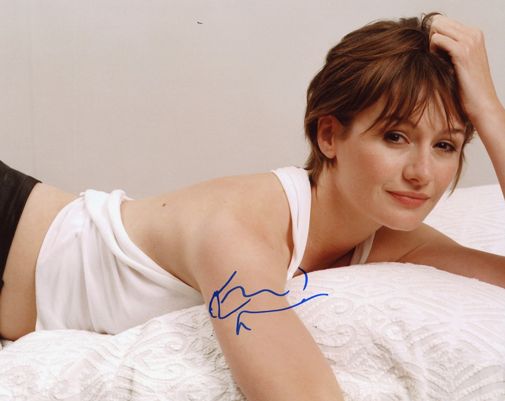 Emily Mortimer Signed Photo