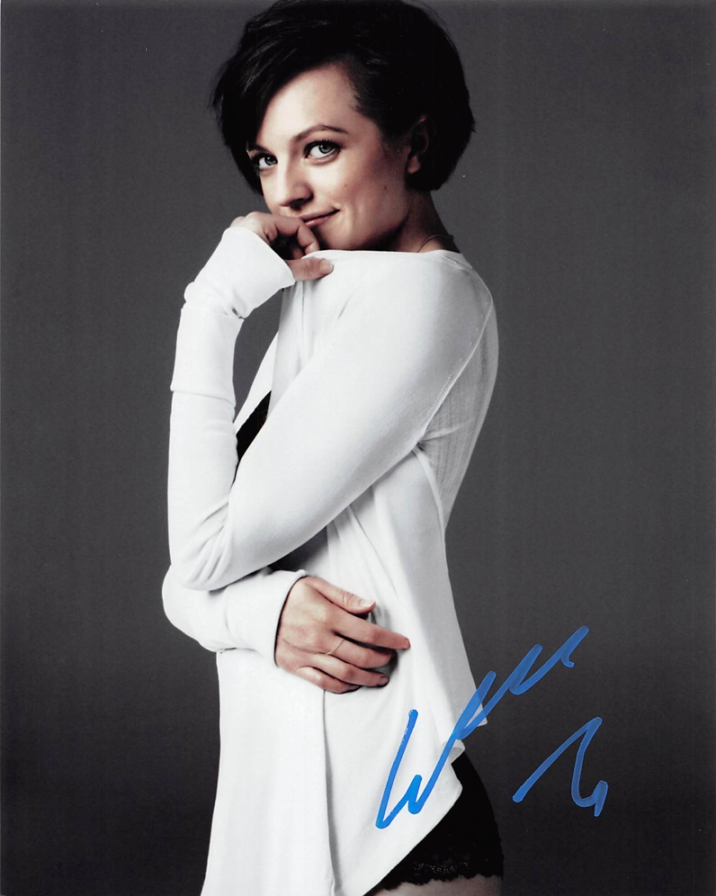 Elisabeth Moss Signed Photo
