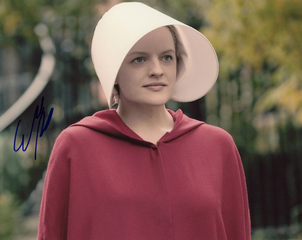 Elisabeth Moss Signed Photo