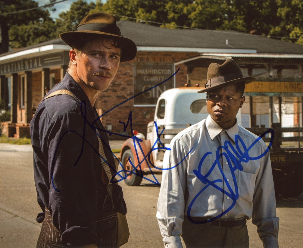 Garrett Hedlund & Jason Mitchell Signed Photo
