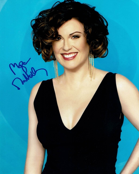 Megan Mullally Signed Photo