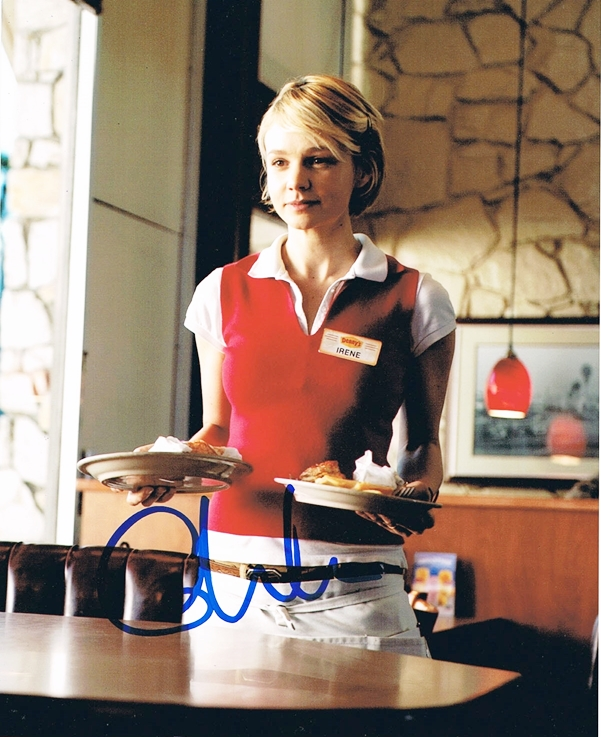 Carey Mulligan Signed Photo