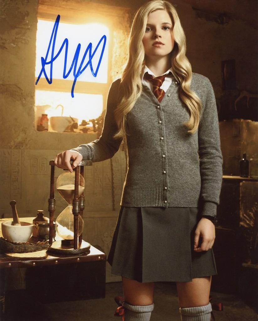Ana Mulvoy-Ten Signed Photo