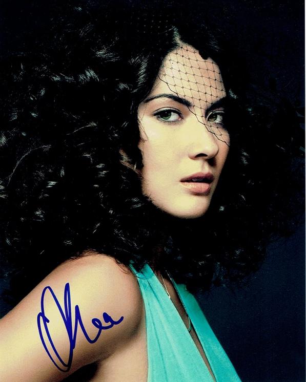 Olivia Munn Signed Photo