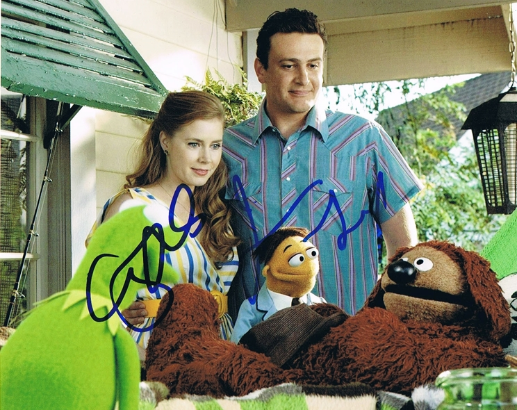 Amy Adams & Jason Segel Signed Photo
