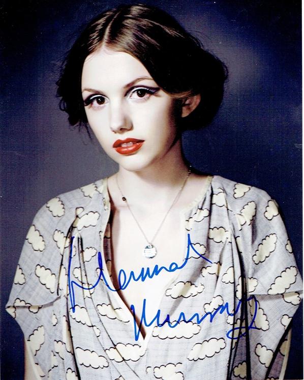 Hannah Murray Signed Photo