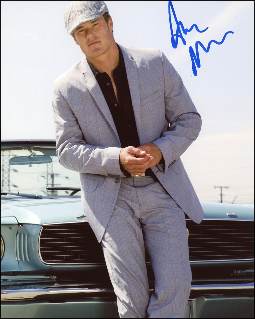 Alec Musser Signed Photo