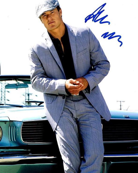 Alec Musser Signed Photo