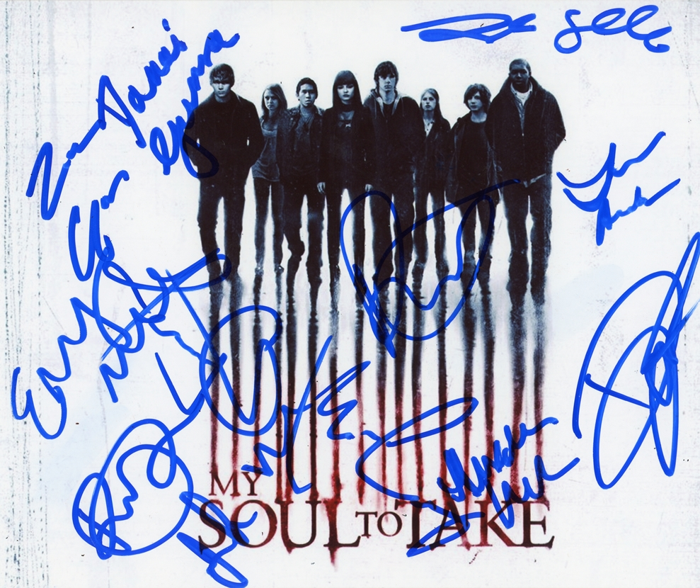 My Soul to Take Signed Photo