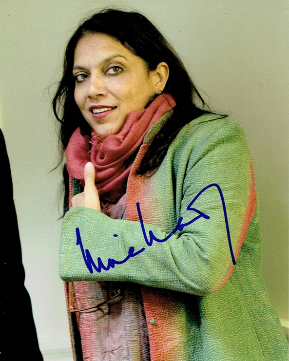 Mira Nair Signed Photo