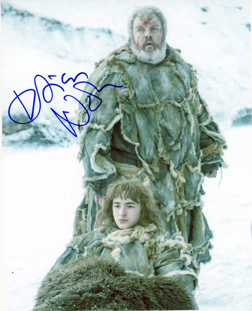 Kristian Nairn Signed Photo