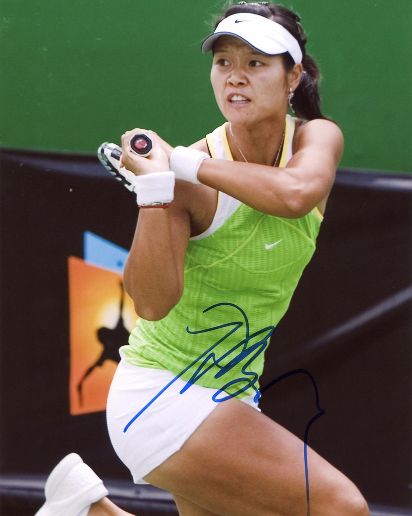 Li Na Signed Photo