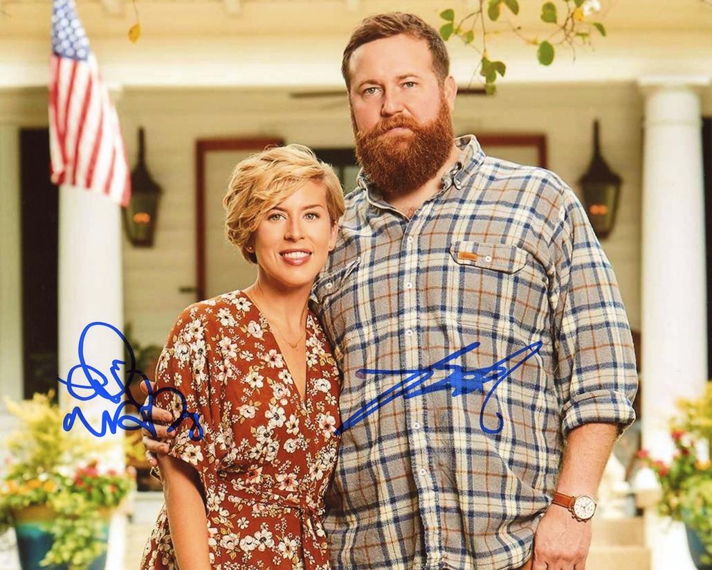 Ben & Erin Napier Signed Photo