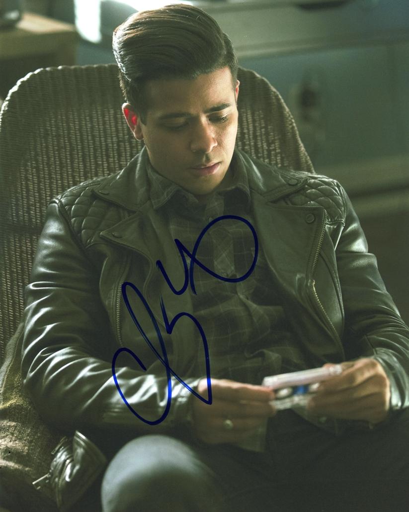 Christian Navarro Signed Photo