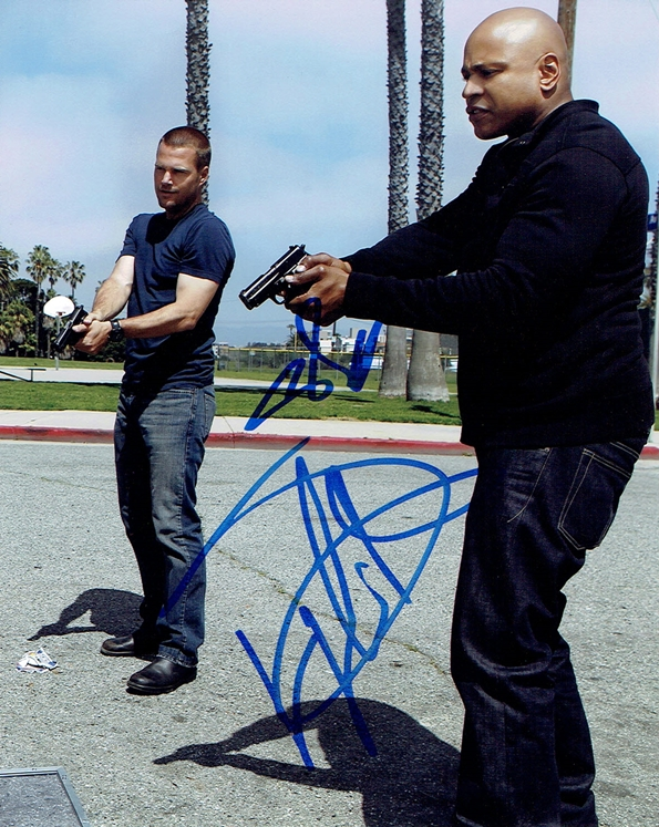 Chris O'Donnell & LL Cool J Signed Photo