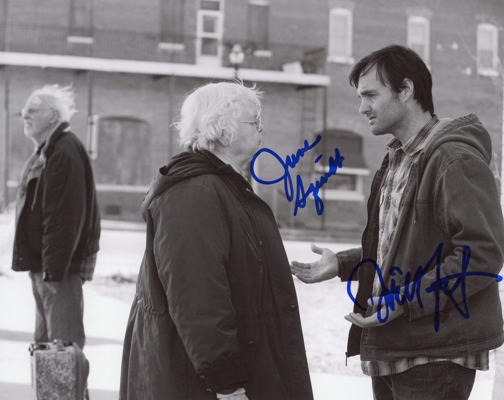 June Squibb & Will Forte Signed Photo