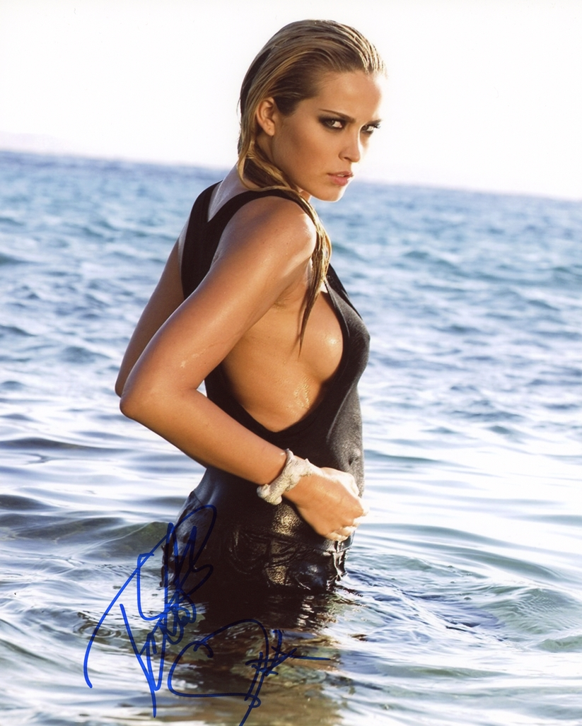 Petra Nemcova Signed Photo