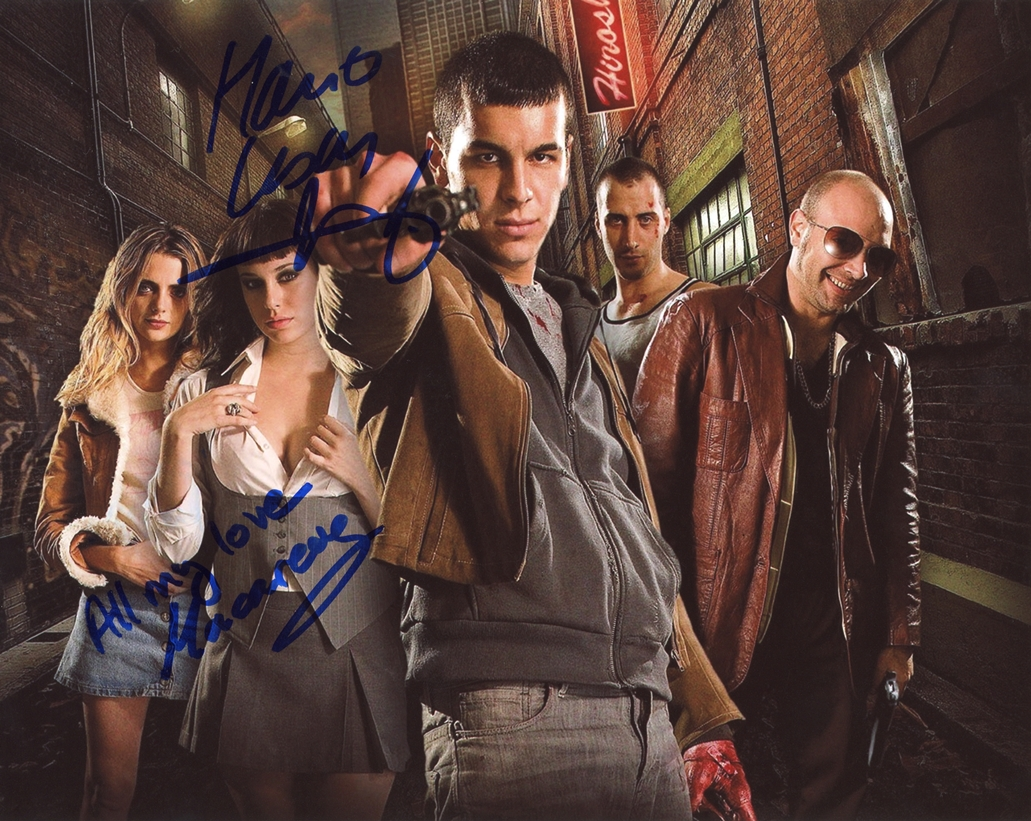 Neon Flesh Signed Photo