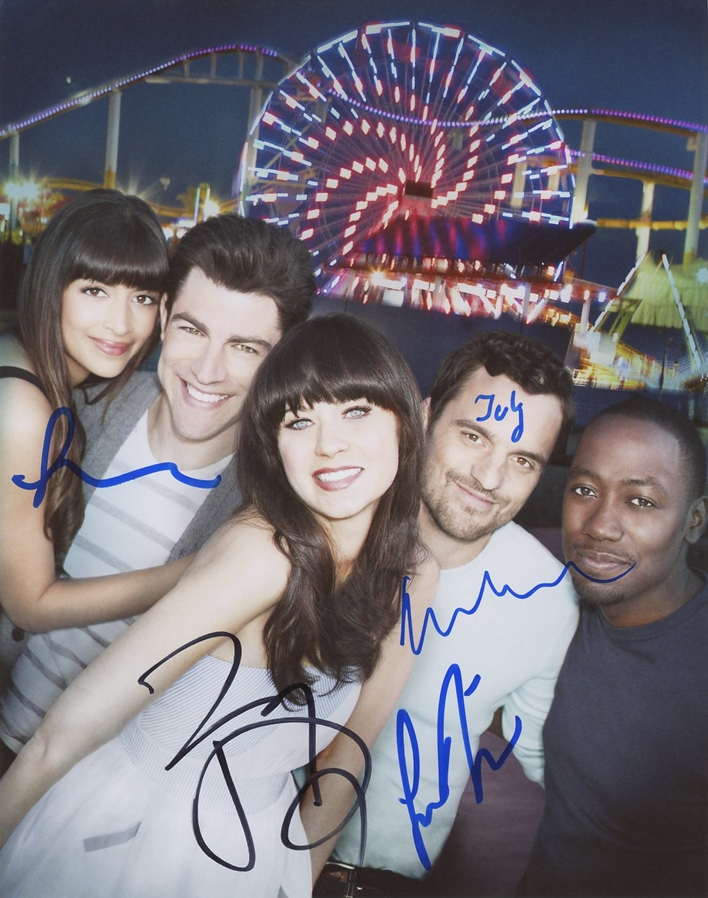 New Girl Signed Photo