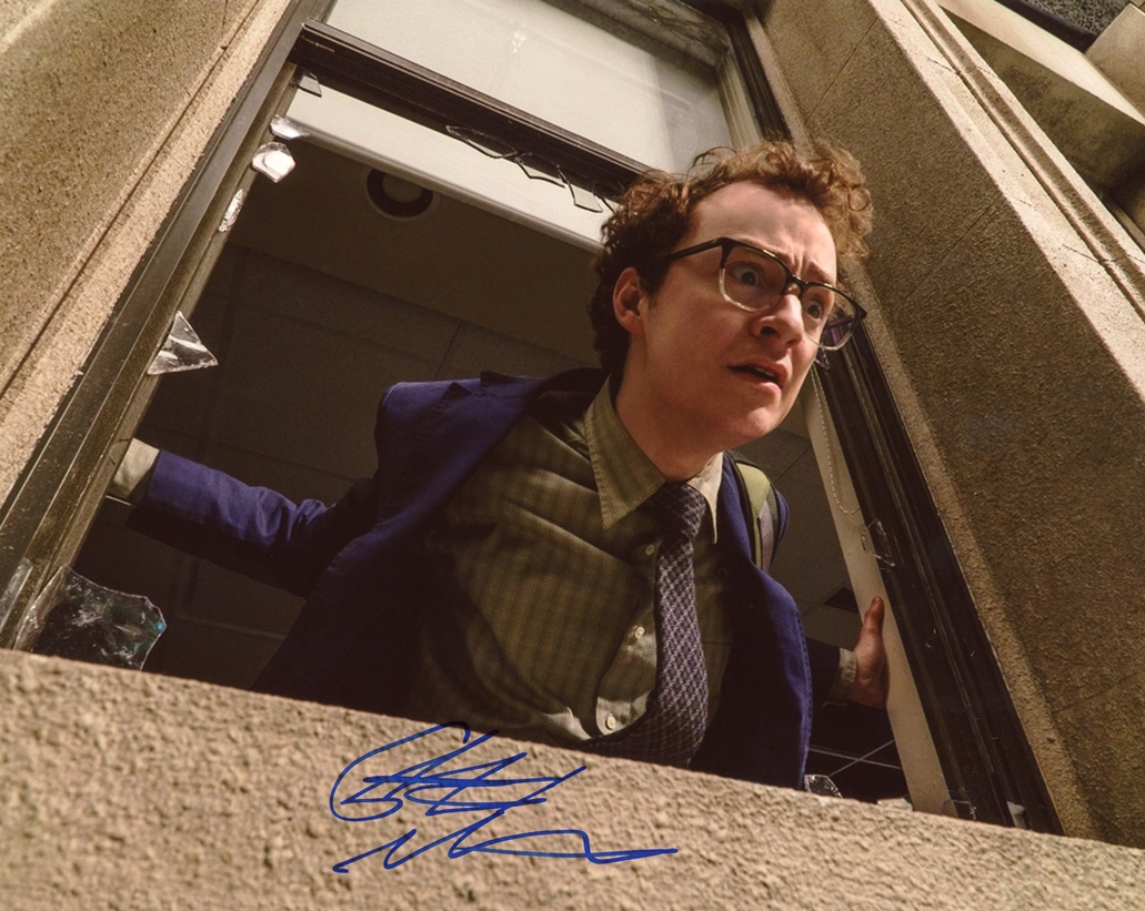 Griffin Newman Signed Photo