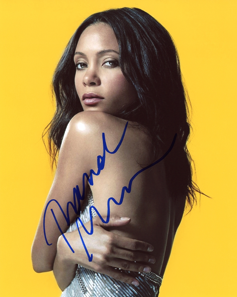 Thandie Newton Signed Photo