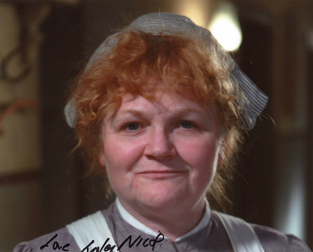 Lesley Nicol Signed Photo