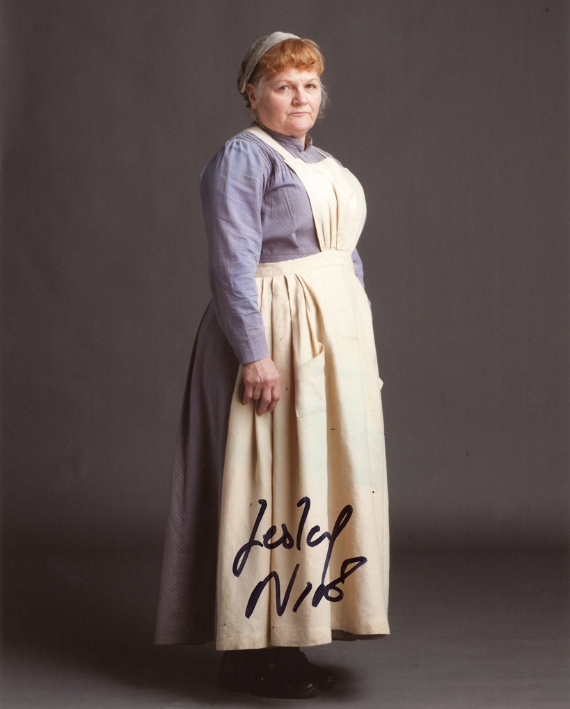 Lesley Nicol Signed Photo