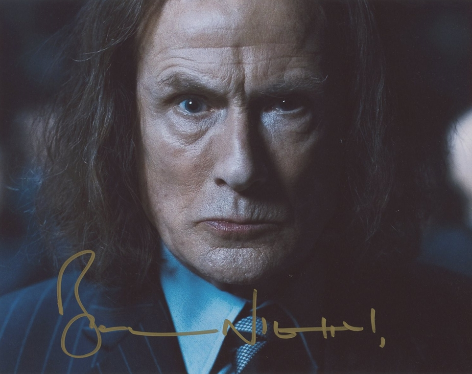 Bill Nighy Signed Photo