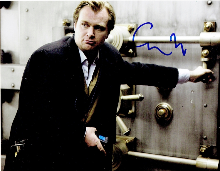 Christopher Nolan Signed Photo