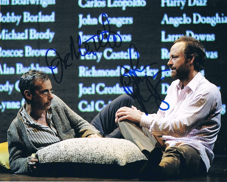 Joe Mantello & John Benjamin Hickey Signed Photo