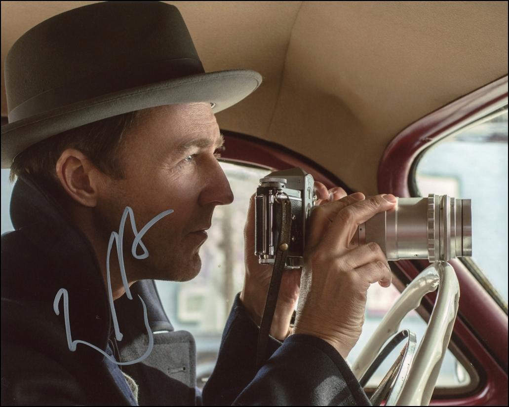 Edward Norton Signed Photo