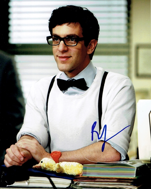 B.J. Novak Signed Photo
